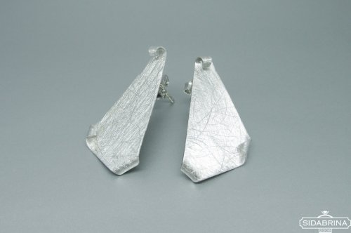 Itališki sidabriniai auskarai