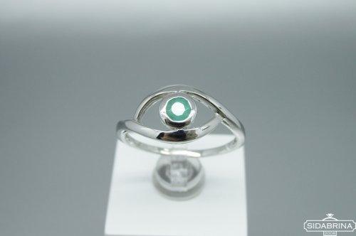 Žiedas su berilu