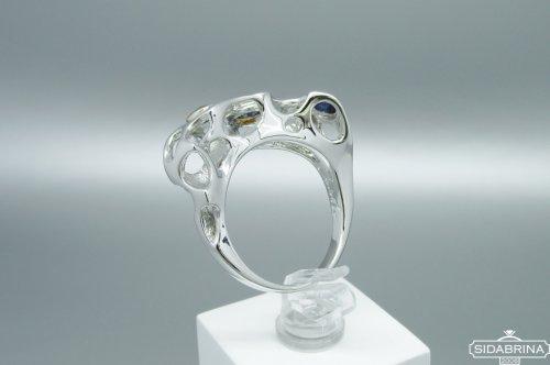 Žiedas su Londono topazais