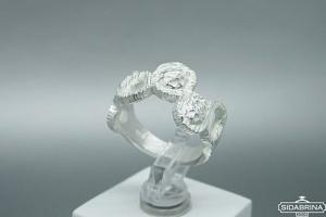 Sidabrinis žiedas - ZDM1464