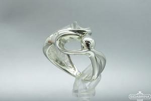 Sidabrinis žiedas - ZDM744