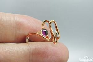 Žiedas su rodolitu - ZDM1419