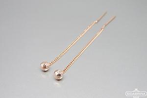 Auksiniai auskarai - AUA128