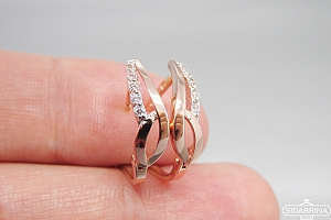 Auksiniai auskarai - AUA146