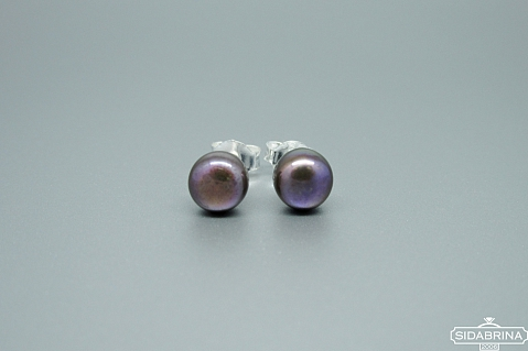 Auskarai su perlais - AUM1839