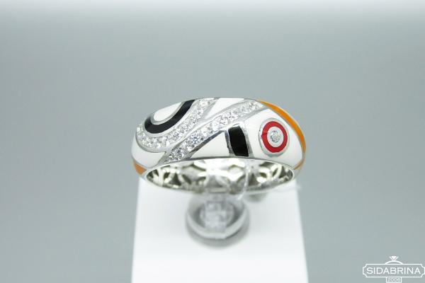 Sidabrinis žiedas - ZDM1274